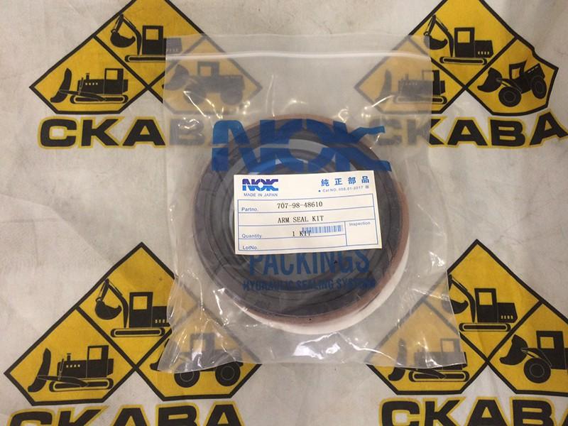 Ремкомплект гидроцилиндра рукояти 707-98-48610